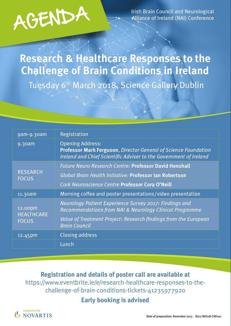 Irish Brain Council & NAI Conference